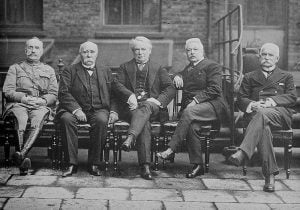 Some of the assholes who started World War I for no good reason